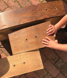 Refresh and refinish furniture with sanding, sealing, and staining.