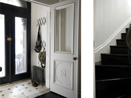 HOW TO CREATE A FUNCTIONAL & PRETTY ENTRYWAY IN A SMALL SPACE