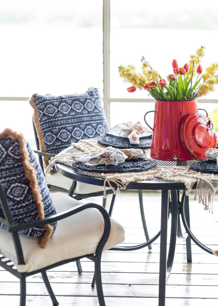 Mohindroo Tablescape Casually Chic