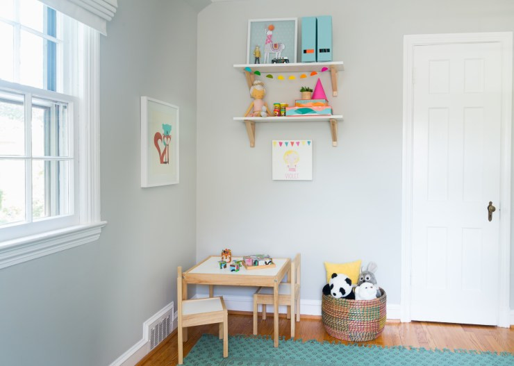Toddler Room Craft Corner 2