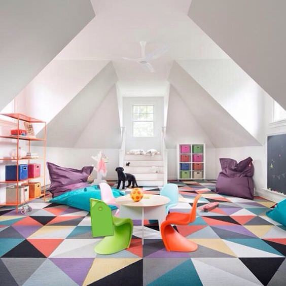 FLOR Tiles Kids Play Room