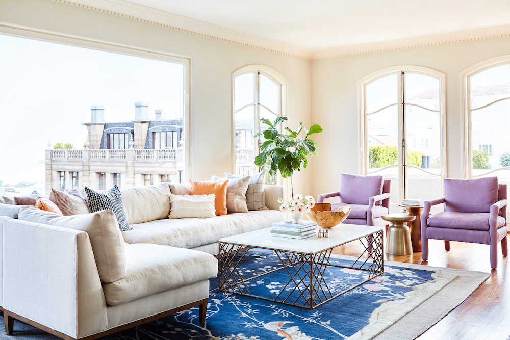 Bright, colorful San Francisco condo.