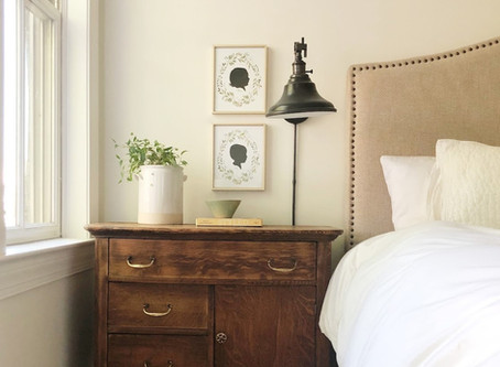 REFRESHED & REFINISHED: BRINGING LIFE BACK TO A VINTAGE NIGHTSTAND