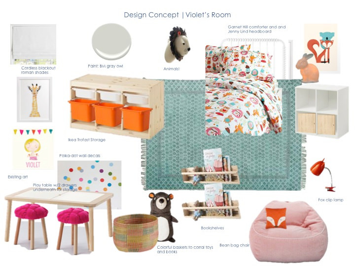Toddler Room Design Plan