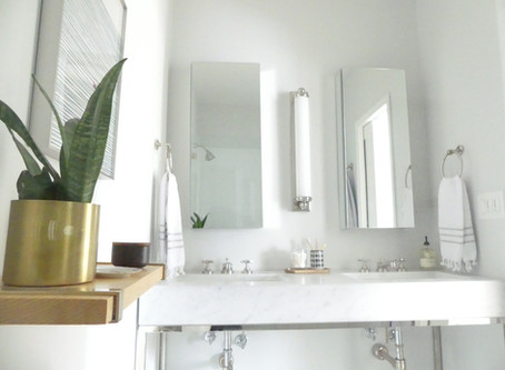 MY MASTER BATH BEFORE + AFTER