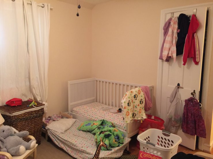 Toddler Room Before 3