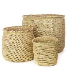 Open Weave Baskets