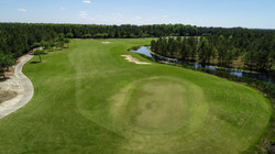 14 green and fairway