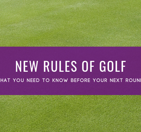 The New Rules of Golf - 2019