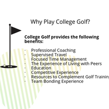 Why Play College Golf?