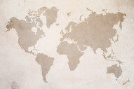 a map of the world on old wall.jpg