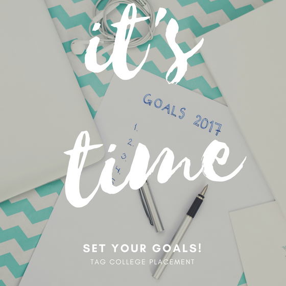 Time to set your goals!