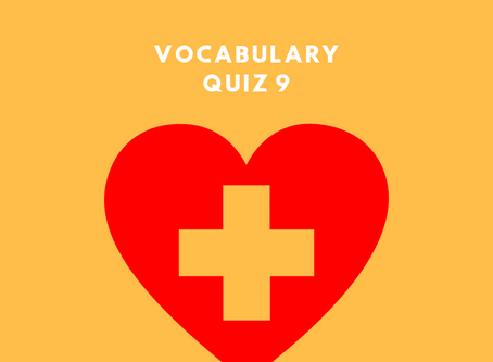 Upgrade Your OET Vocabulary Quiz 9