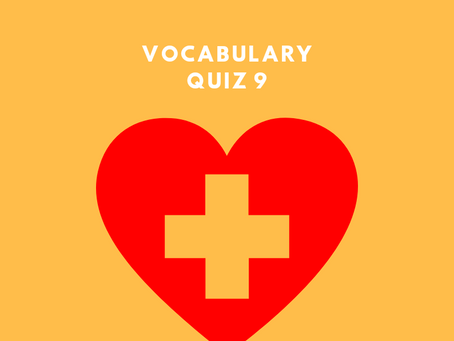 Upgrade Your OET Vocabulary Quiz 9