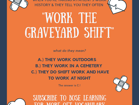 Do you work the Graveyard Shift?