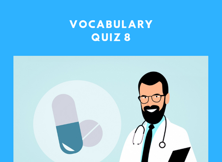 Upgrade Your OET: Vocabulary Quiz 8