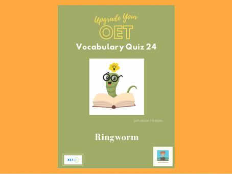 Upgrade Your OET Vocabulary Quiz 24