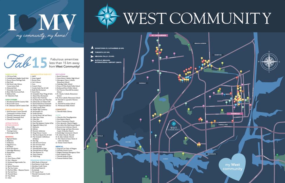 West Community Amenity Map