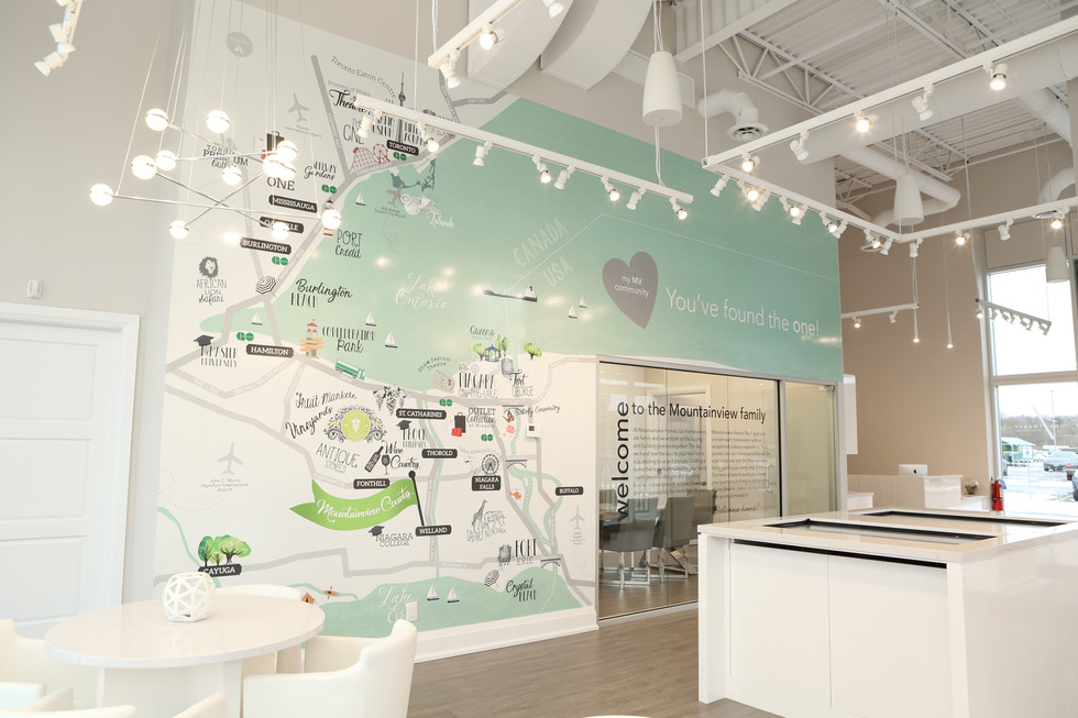 Mountainview Country in Fonthill Presentation Centre