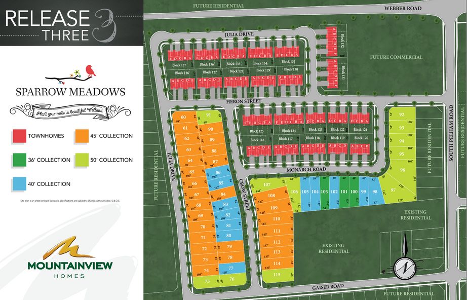 Sparrow Meadows Site Plan