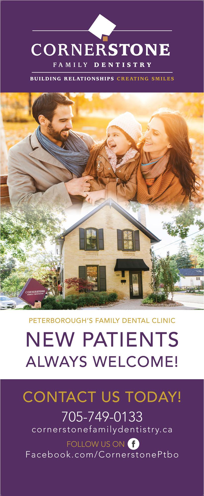 Cornerstone Family Dentistry Banner