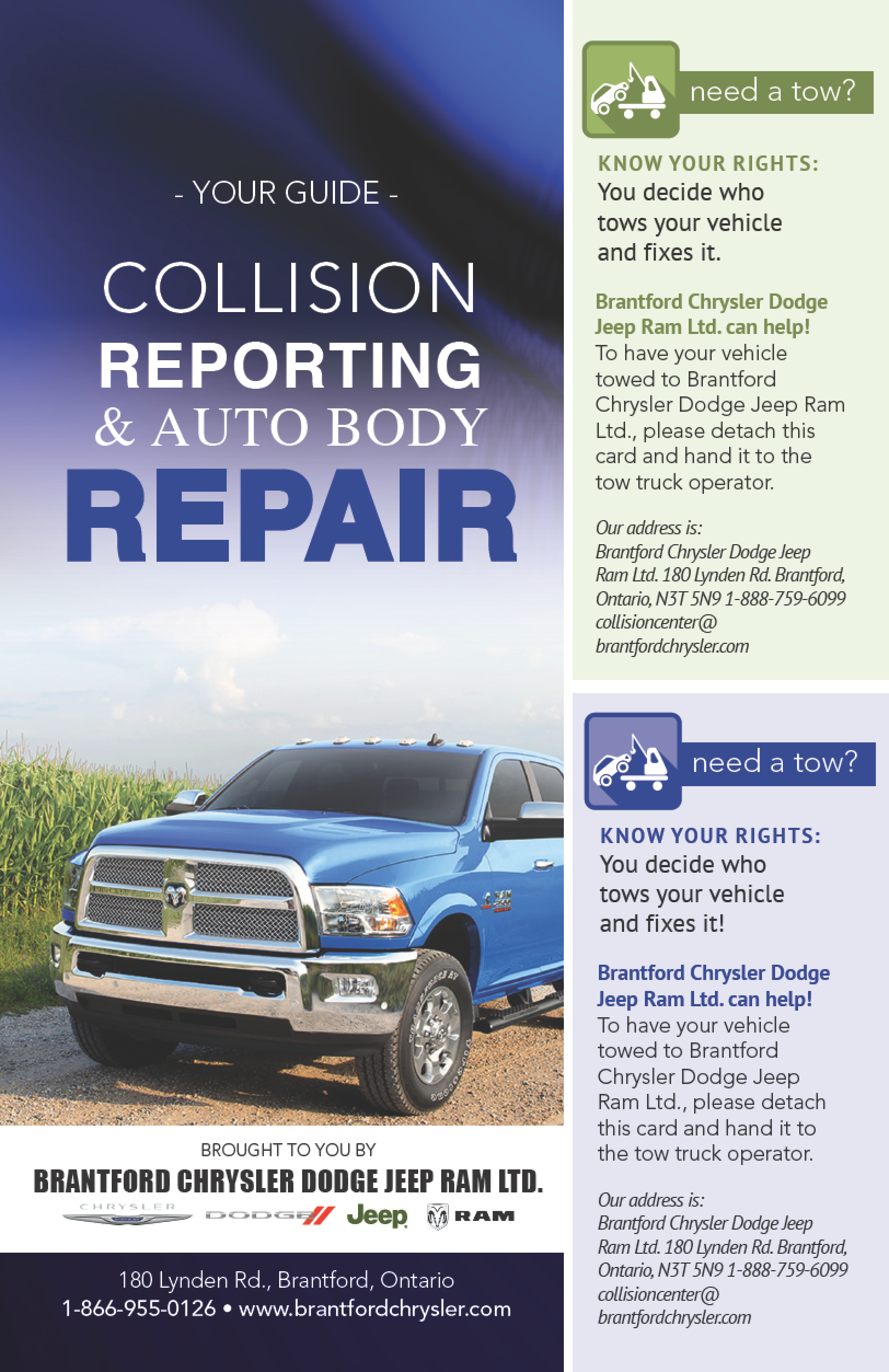 Collision Reporting Brochure