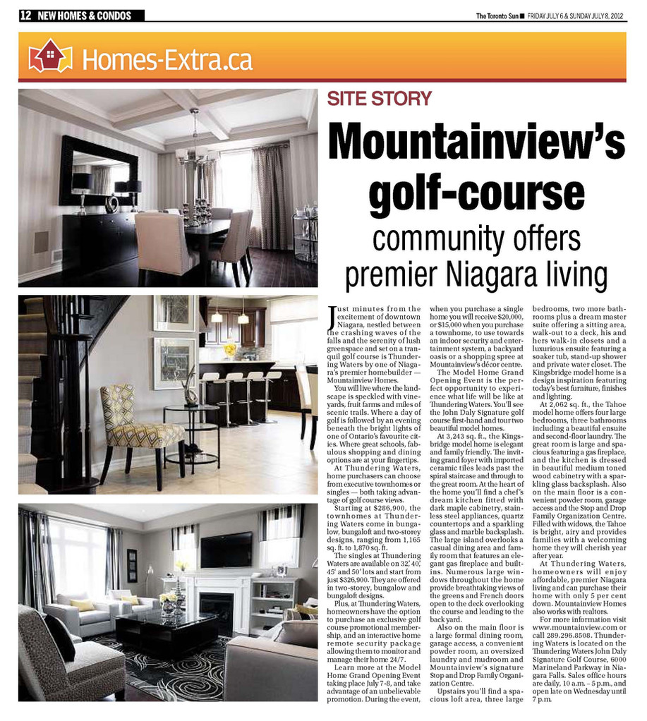 New Homes & Condos - Mountainview Homes
