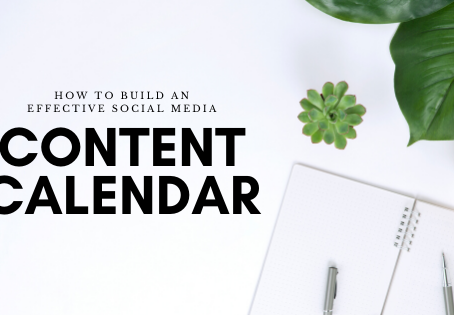 How to Build an Effective Social Media Content Calendar