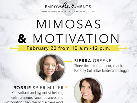 Our first Empowherment - Mimosas & Motivation!