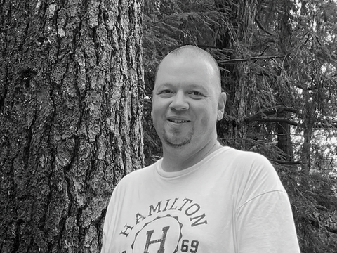 Shawn Munro, Graphic Designer/Marketing Lead