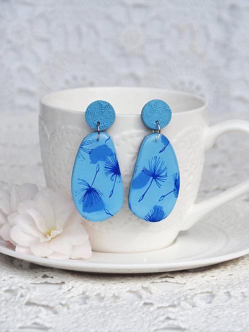 Dandelion Wishes Statement Earrings