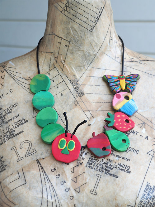 STORYTIME CATERPILLAR NECKLACE