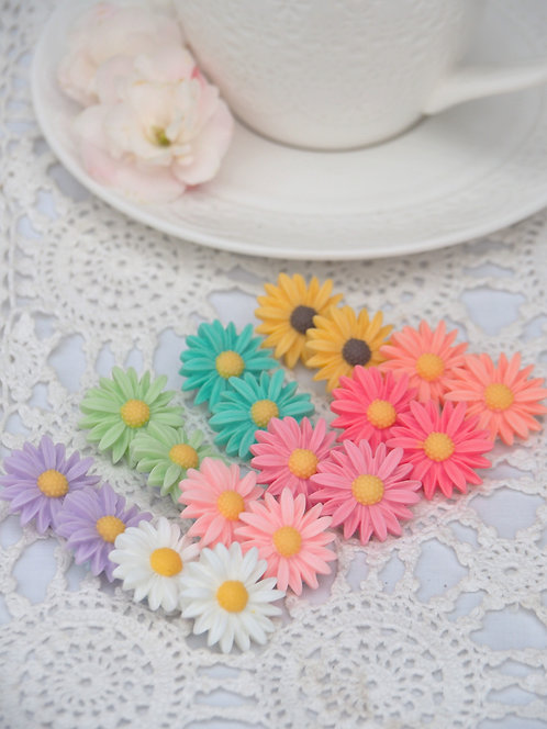 Daisy Studs - Rainbow Pick