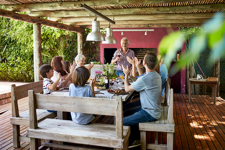 Argentinian Asado Family Lunch
