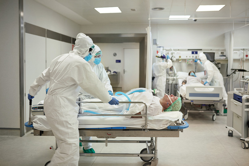Hospital during pandemic Covid-19