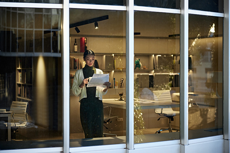 Office - Working Late