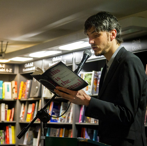 Rob Doyle, This Is The Ritual Book Launch