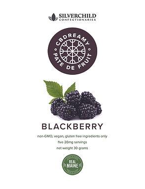 CBDreamy Blackberry Pâte De Fruit
