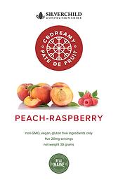 of CBDreamy Raspberry-Peach Pâte De Fruit