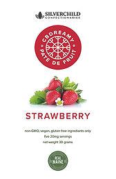 CBDreamy Strawberry Pâte De Fruit