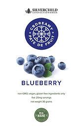 CBDreamy Blueberry Pâte De Fruit