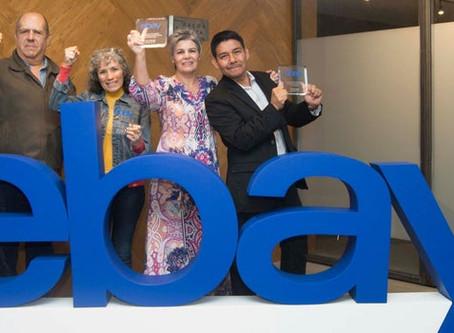 """Mexicanos son reconocidos por Ebay en la primera edición de  """"Emprendedores del año"""""""