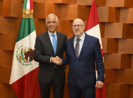 Se reúne Grupo de Trabajo sobre Comercio e Inversión México-Canadá