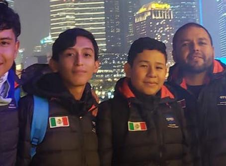 Mexicanos ganan primer lugar en Torneo Mundial de Robótica en China