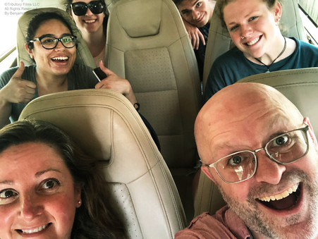 Crew on the road