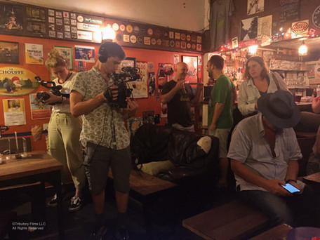 On location at Fatty's Bar