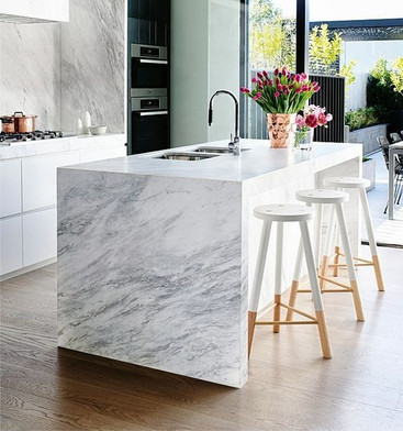 7 Tips + Trends for Using Marble Veneer on Countertops.