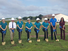 Groundbreaking at Pinckneyville Community Hospital