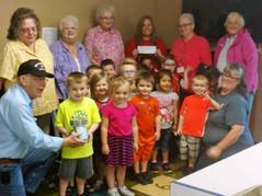 Senior Care Donates to Head Start Program