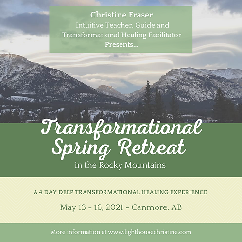 PAY IN FULL Transformational Spring Retreat - Canmore AB